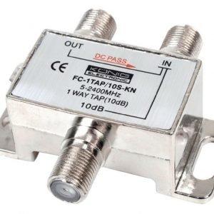 1-tie haaroitin 5 - 2400 MHz 10 dB