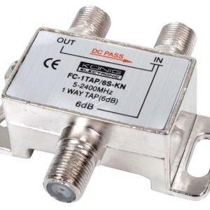 1-tie haaroitin 5 - 2400 MHz 6 dB