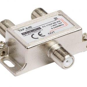 1-tie haaroitin 5 - 2400 MHz 8 dB