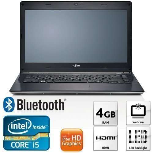 13inch Fujitsu Lifebook UH552 (VFY:UH552MX5A2SE) Intel Core i5 3317U 4GB 500GB W7HP 13.3 inches Intel HD Graphics 4000