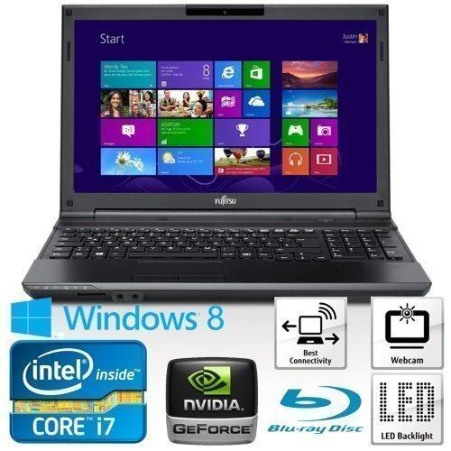 15inch Fujitsu Lifebook AH532 (VFY:AH532MX7B2SE) Intel Core i7 3632QM 6GB 500GB W8 15.6 inch GeForce GT 620M