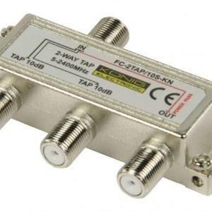 2-tie haaroitin 5 - 1000 MHz 10 dB