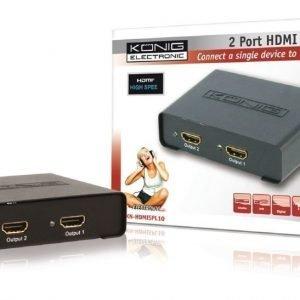 2 väylä HDMI jaotin