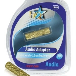 3.5mm naaras - 3.5mm naaras adapteri