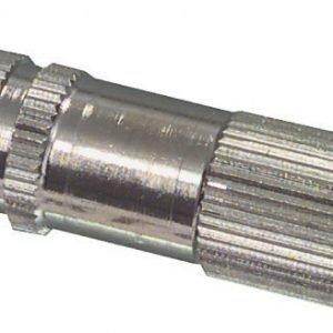 3.5mm plugi uros metallinen mono