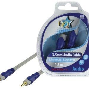 3.5mm stereo uros - 3.5mm stereo naaras johto 1.50 m