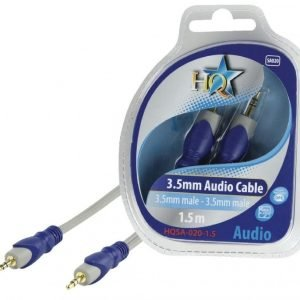 3.5mm stereo uros - 3.5mm stereo uros johto 1.50 m
