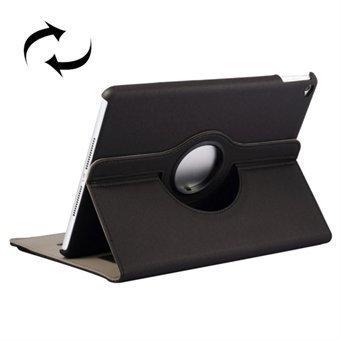 360 Asteen Flip Kotelo iPad Air 2 Musta