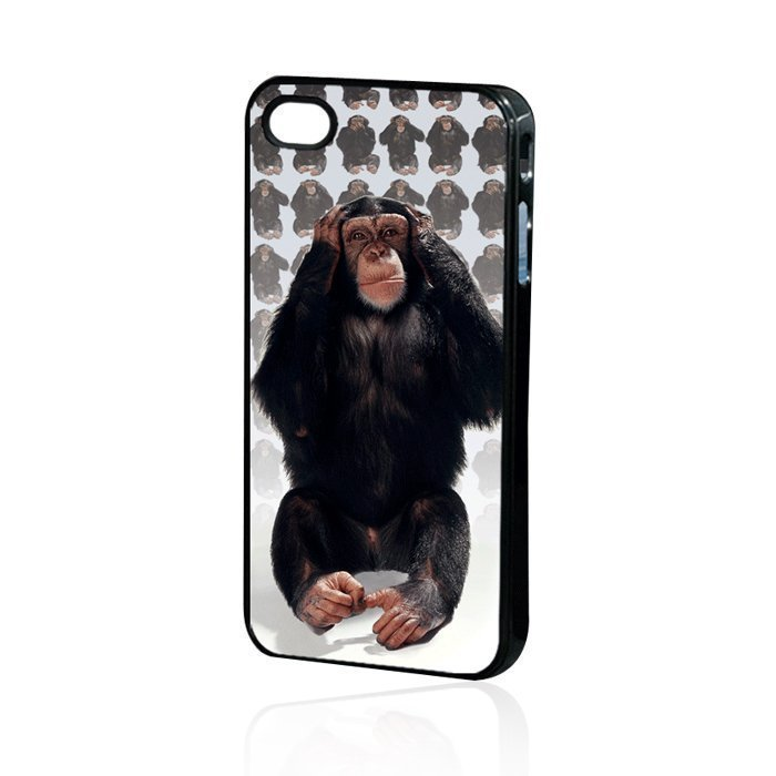 3D Monkey Back Case iPhone 4