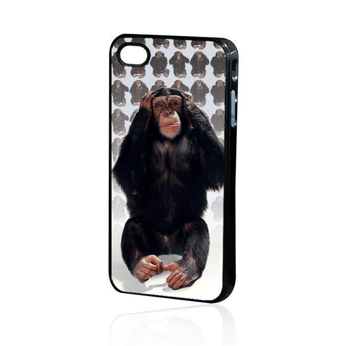 3D Monkey Back Case iPhone 4