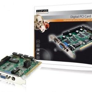 4 kanava security PCI kortti