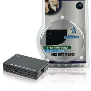 4 väylä HDMI kytkin