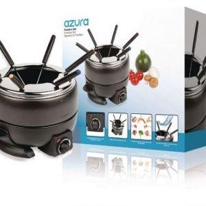 6 hengen fondue-setti säädettävä termostaatti 2 3l