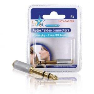 6.33mm - 3.5mm adapteri