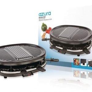 8 hengen raclette-grilli