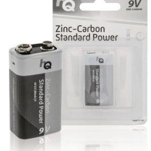 9 V -sinkki-hiili-paristo 1 kpl läpipainopakkaus