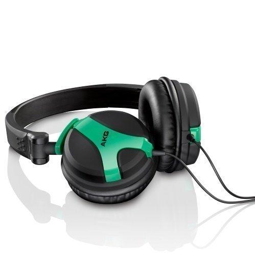 AKG K 518 On-Ear Neon Green