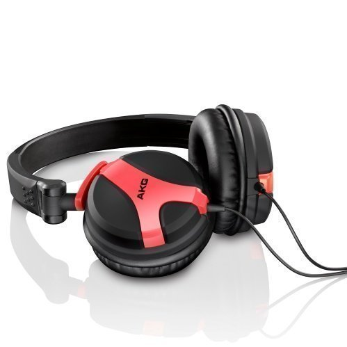 AKG K 518 On-Ear Neon Red