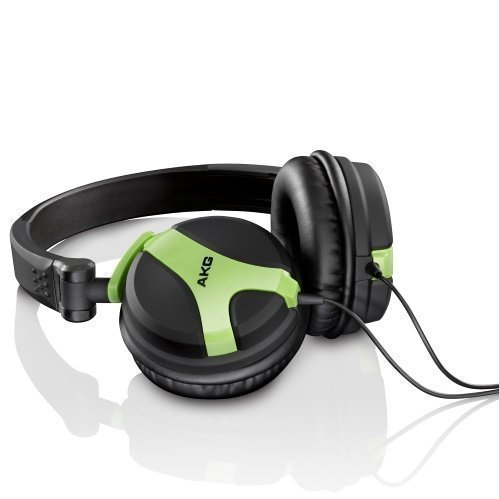 AKG K 518 On-Ear Neon Yellow