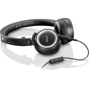 AKG K451 On-Ear with Mic3 for iPhone Black