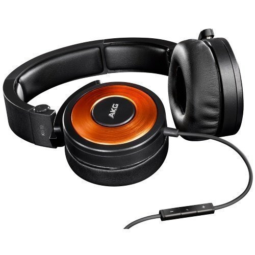 AKG K619 On-Ear with Mic3 for iPhone Orange