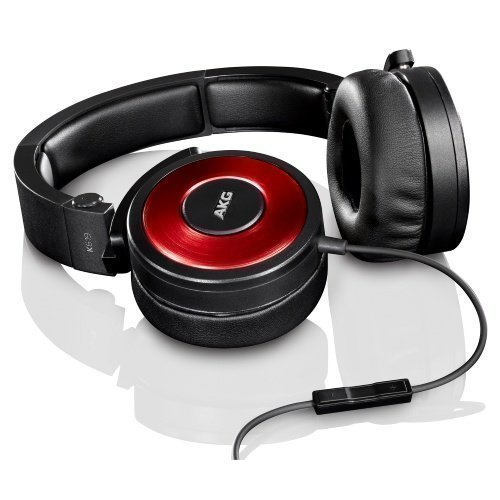 AKG K619 On-Ear with Mic3 for iPhone Red
