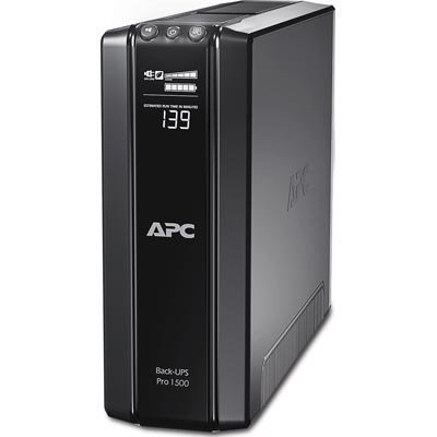 APC Back-UPS Line-interaktiivinen UPS - 1.50 kVA/865W Tower