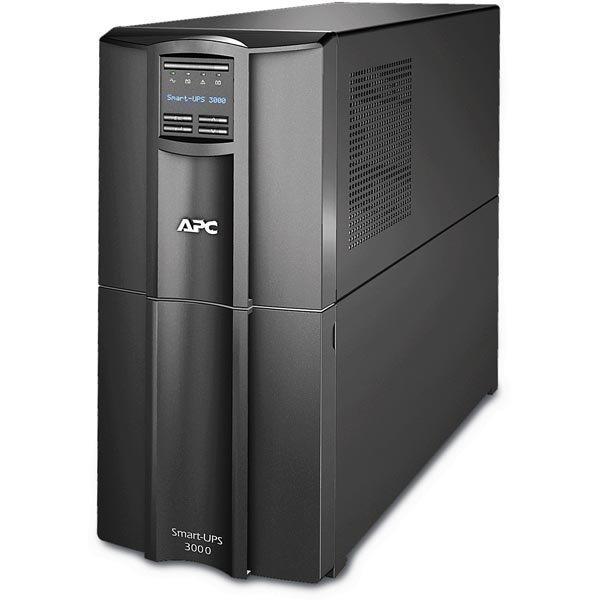 APC Smart-UPS 3000 230V 3000VA/2700W 8xC13 LCD USB musta