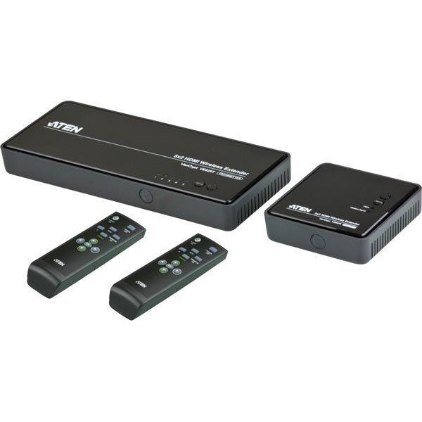 ATEN langaton HDMI-jatke 5 - 2 IR kaukosäädin musta