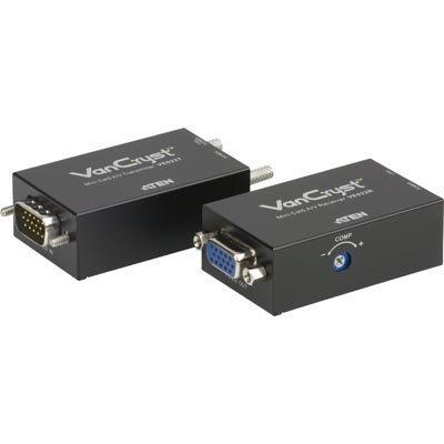 ATEN signaalinvahvistin VGA- ja ääni Cat5e kaapelissa 150m
