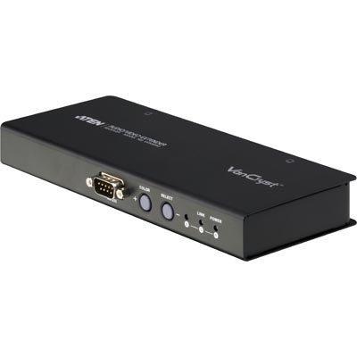 ATEN vastaanotin sopii VM0808T VGA 3 5mm ääni DB9 1920x1200 15