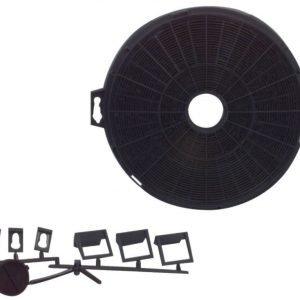 Active hiilisuodatin liesituulettimeen 210 mm yleis
