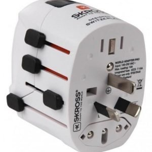Adapter Swiss Travelproducts World Travel Adapter Pro