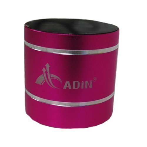 Adin D1BT Pink Bluetooth
