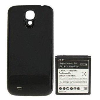 Akku 5800mAh + Kuori Samsung Galaxy S4 malliin