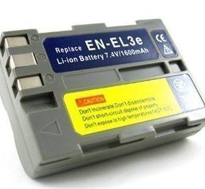 Akku EN-EL3e Nikon-malleihin D50 / D70 / D80 / D90