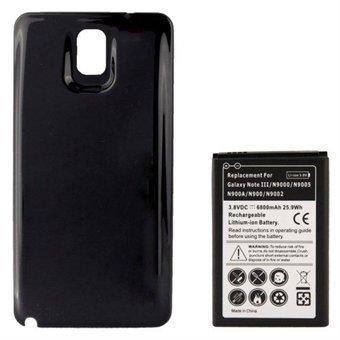 Akku + Kuoret mallille Samsung Galaxy Note 3