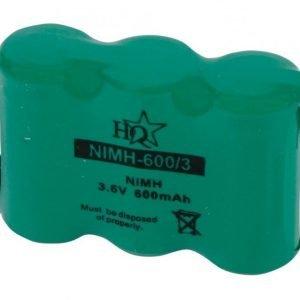 Akkupaketti NiMH 3.6 V 60 mAh