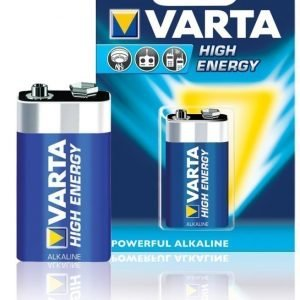 Alkaliparistot LR22 9 V High Energy 1-blisteri