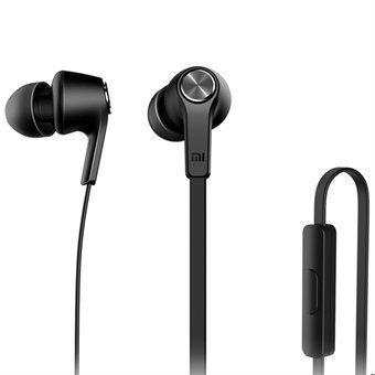 Alkuperäinen Xiaomi Piston In-Ear Stereo Bass kuulokkeet Kaukosäätimellä