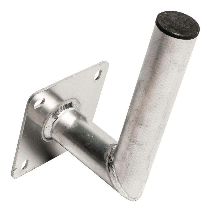 Alumiininen seinäkiinnike L-malli 150/50mm