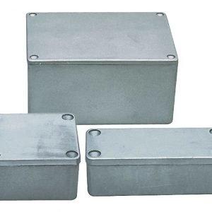 Alumiininenkotelo 64x58x35 mm