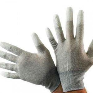 Antistaattiset hanskat - Harmaa väri