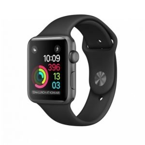 Apple Watch Series 1 Älykello 42mm Harmaa / Musta