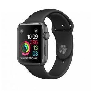 Apple Watch Series 1 Älykello 42mm Harmaa / Musta