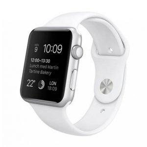 Apple Watch Sport 42 Mm Hopea / Valkoinen