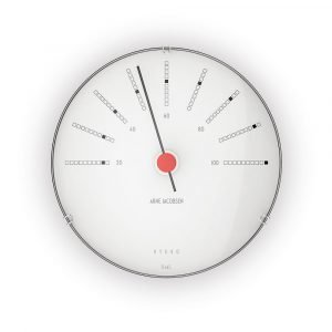 Arne Jacobsen Aj Bankers Hygrometri / Kosteusmittari 12cm