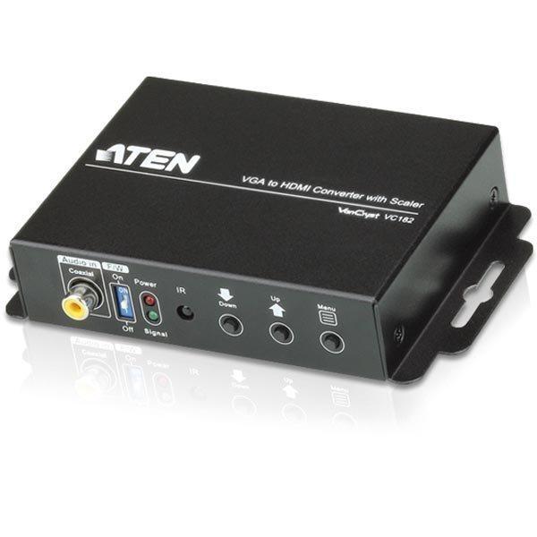 Aten signaalinmuunnin VGA analogin./digitaal. ääni - HDMI 1080p m