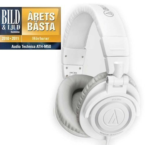 Audio-Technica ATH-M50 White Fullsize