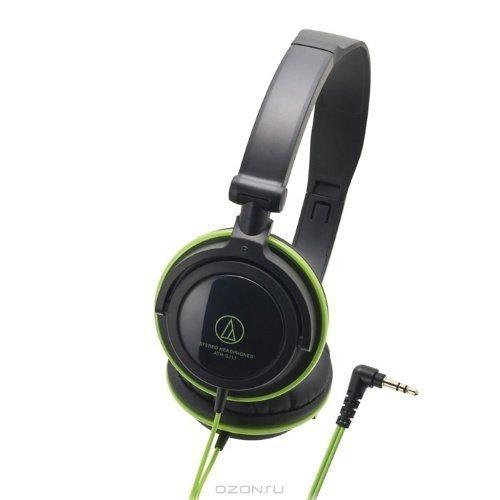 Audio-Technica ATH-SJ11 Black/Green Ear-pad